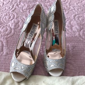 Badgley Mischka high heeled shoes!